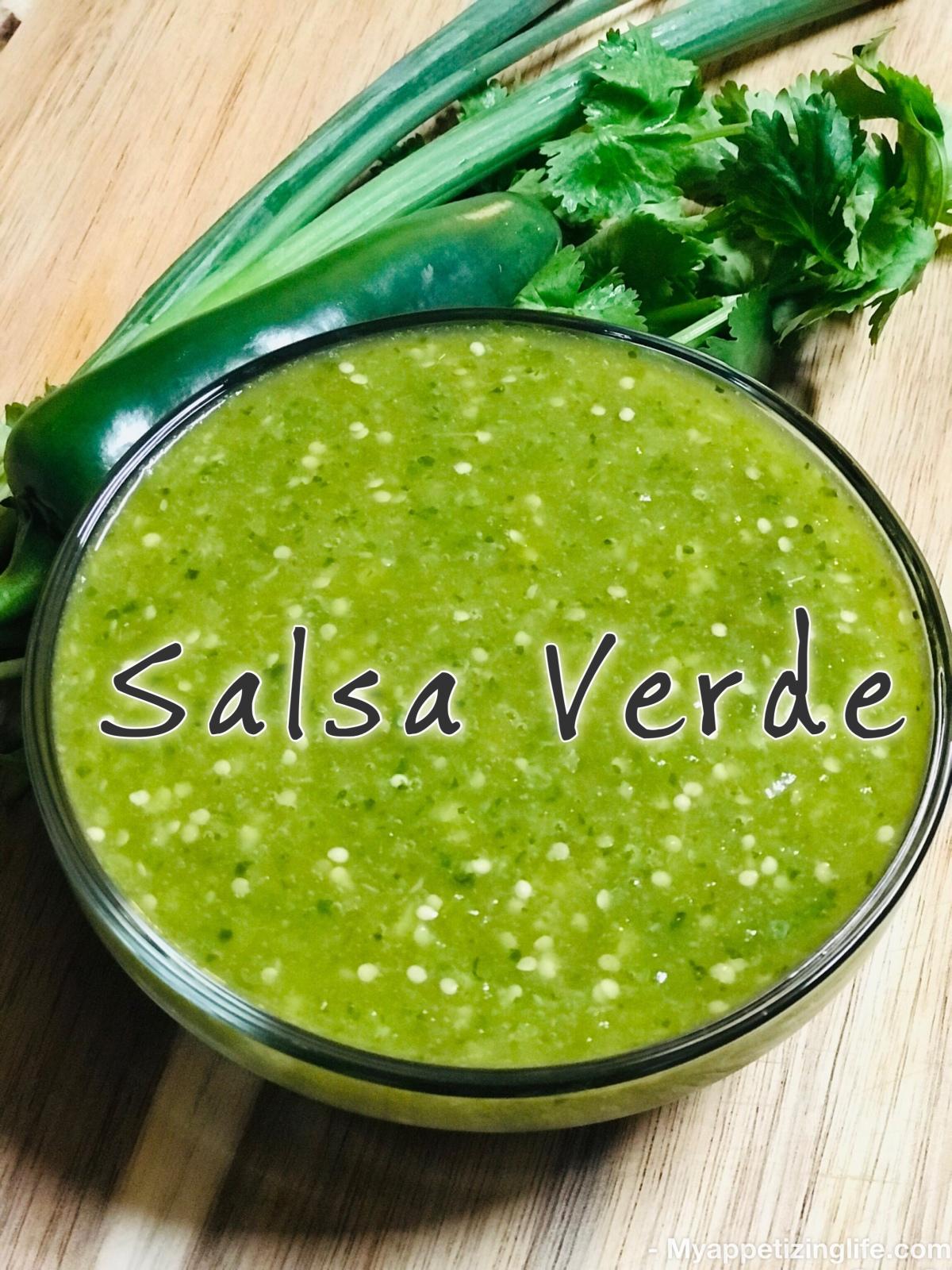 Erika's Salsa Verde