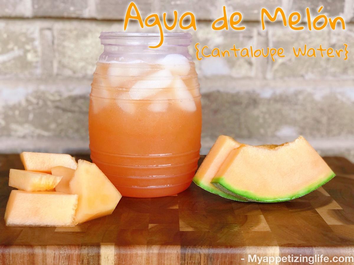 Agua de Melon/ CantaloupeWater